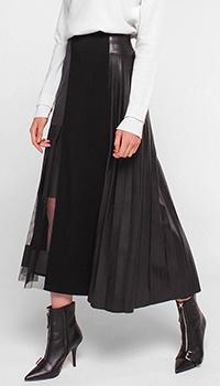 Черная юбка Dorothee Schumacher плиссированная, фото