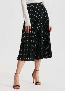 Плиссированная юбка Miss Sixty в крупный горох, фото