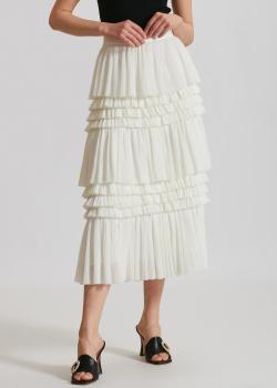 Белая юбка Miss Sixty с оборками, фото