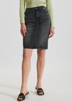 Джинсовая юбка Miss Sixty черного цвета, фото