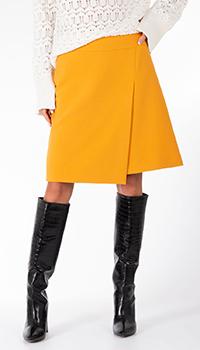 Желтая юбка Riani с запахом, фото