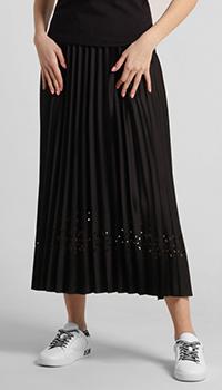 Черная юбка Laurel с перфорацией, фото