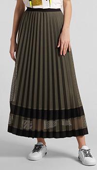 Зеленая юбка Laurel с плиссировкой, фото