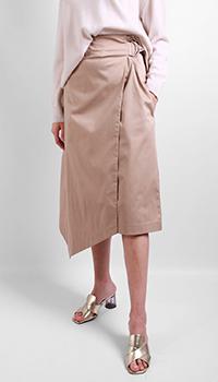 Бежевая юбка Laurel с запахом, фото