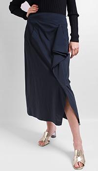 Юбка-миди Laurel синего цвета, фото