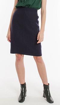 Темно-синяя юбка Laurel с завышенной талией, фото