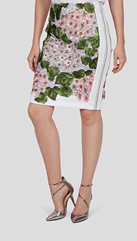 Юбка Sportalm Dreamer Gabby с цветочной вышивкой, фото