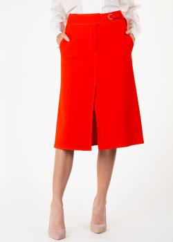 Красная юбка Emilio Pucci с разрезами, фото