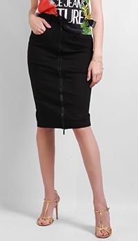 Юбка-карандаш Versace Jeans Couture на молнии, фото