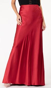 Длинная юбка Alberta Ferretti из шелка, фото