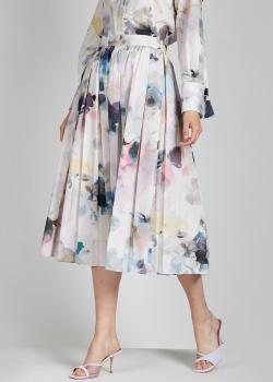 Плиссированная юбка Agnona средней длины, фото