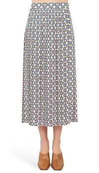 Плиссированная юбка Vivetta с узором, фото