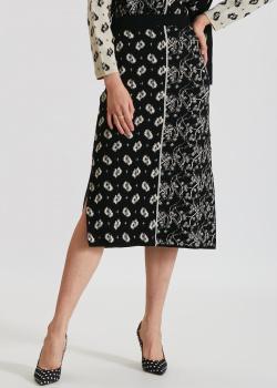 Трикотажная юбка Kenzo с разрезами по бокам, фото