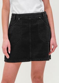Джинсовая юбка Kenzo черного цвета, фото