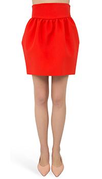 Юбка-фонарик MSGM красного цвета, фото