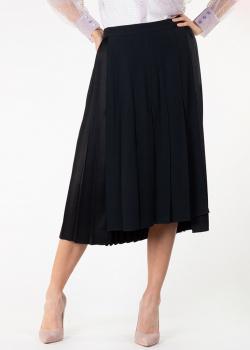 Плиссированная юбка N21 средней длины, фото