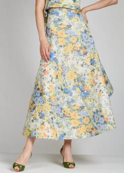 Длинная юбка Nina Ricci с цветочным принтом, фото