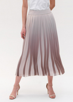 Плиссированная юбка Peserico средней длины, фото