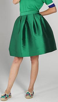 Юбка-тюльпан P.A.R.O.S.H. зеленого цвета, фото