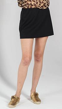 Мини-юбка P.A.R.O.S.H. черного цвета, фото