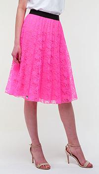 Пышная юбка Philipp Plein розового цвета, фото