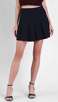 Черная юбка Red Valentino с плиссировкой, фото