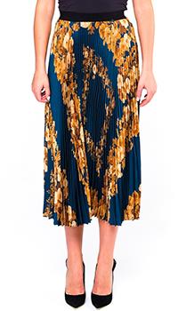 Плиссированная юбка Twin-Set с цветочным принтом, фото