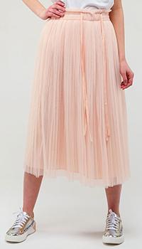 Розовая юбка Twin-Set плиссированная, фото
