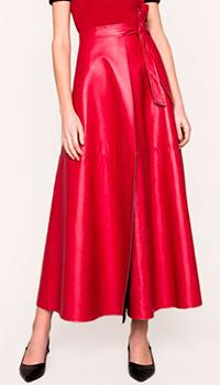 Юбка-макси Twin-Set красного цвета, фото