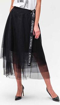 Фатиновая юбка Twin-Set с поясом, фото