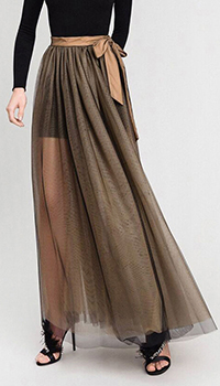 Длинная юбка Twin-Set с разрезом, фото