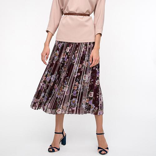 35a3f9e6739 ☆ Плиссированная юбка Shako с цветочным принтом купить в Киеве ...