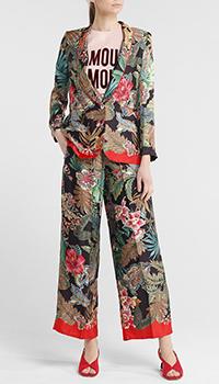 Брючный костюм Seventy с цветочным принтом, фото
