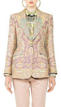 Пиджак Etro с цветочным орнаментом, фото
