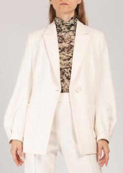 Белый жакет Dorothee Schumacher с накладными карманами, фото