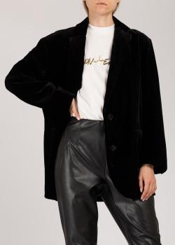 Черный пиджак Dorothee Schumacher на две пуговицы, фото