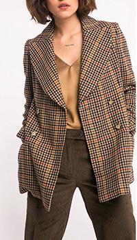 Пиджак Shako из шерсти с принтом, фото