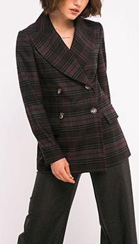 Двубортный пиджак Shako коричневого цвета, фото