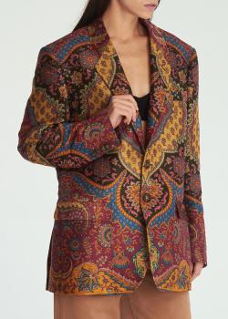 Женский пиджак Etro на пуговицах, фото