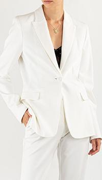 Белый пиджак Pinko с длинным рукавом, фото