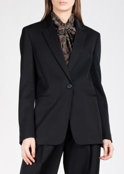 Черный пиджак Rochas на одну пуговицу, фото