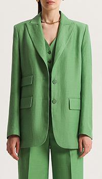 Пиджак Shako с тремя карманами зеленого цвета, фото