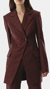 Женский пиджак Shako темно-красного цвета, фото