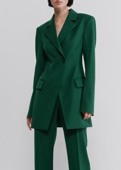 Зеленый пиджак Shako на одну пуговицу, фото