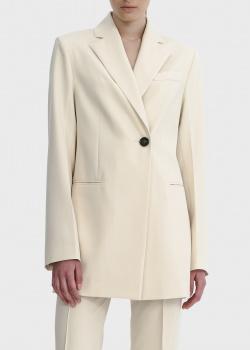 Пиджак прямого кроя Shako молочного цвета, фото