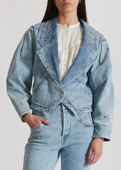 Джинсовый жакет Isabel Marant голубого цвета, фото