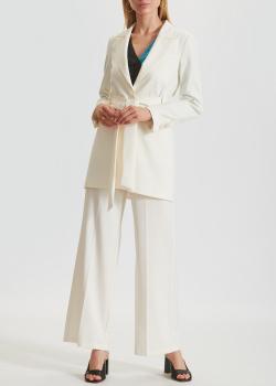 Брючный костюм Beatrice.B белого цвета, фото