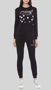 Спортивный костюм Trussardi Collection черного цвета, фото