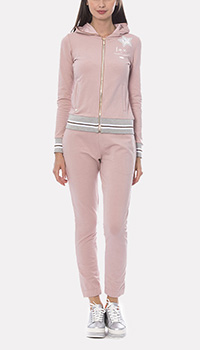 Костюм спортивный Francesca E.Versace светло-розового цвета, фото