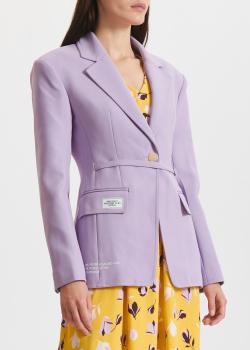 Приталенный жакет Miss Sixty сиреневого цвета, фото